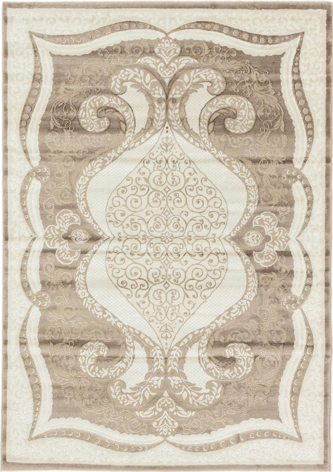 5' 3 x 7' 6 Classic Aubusson Rug main image