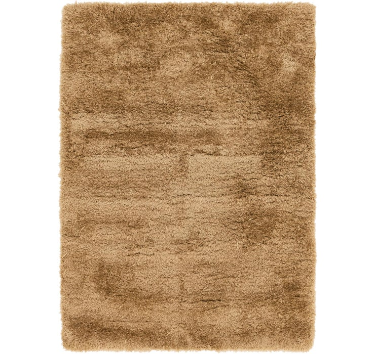 5' 6 x 7' 7 Luxe Solid Shag Rug