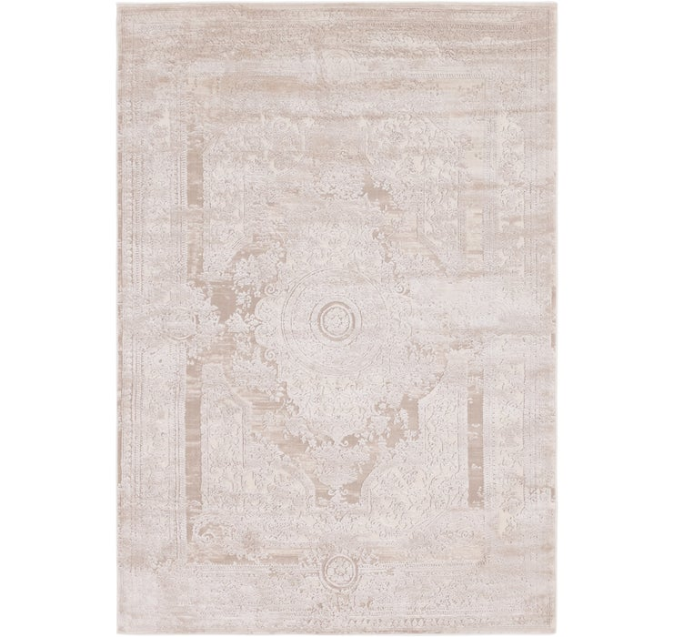 5' x 7' 8 Carved Aubusson Rug