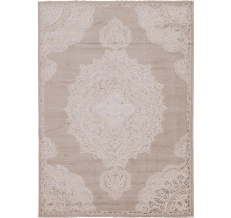 Image of 5' 3 x 7' 3 Classic Aubusson Rug