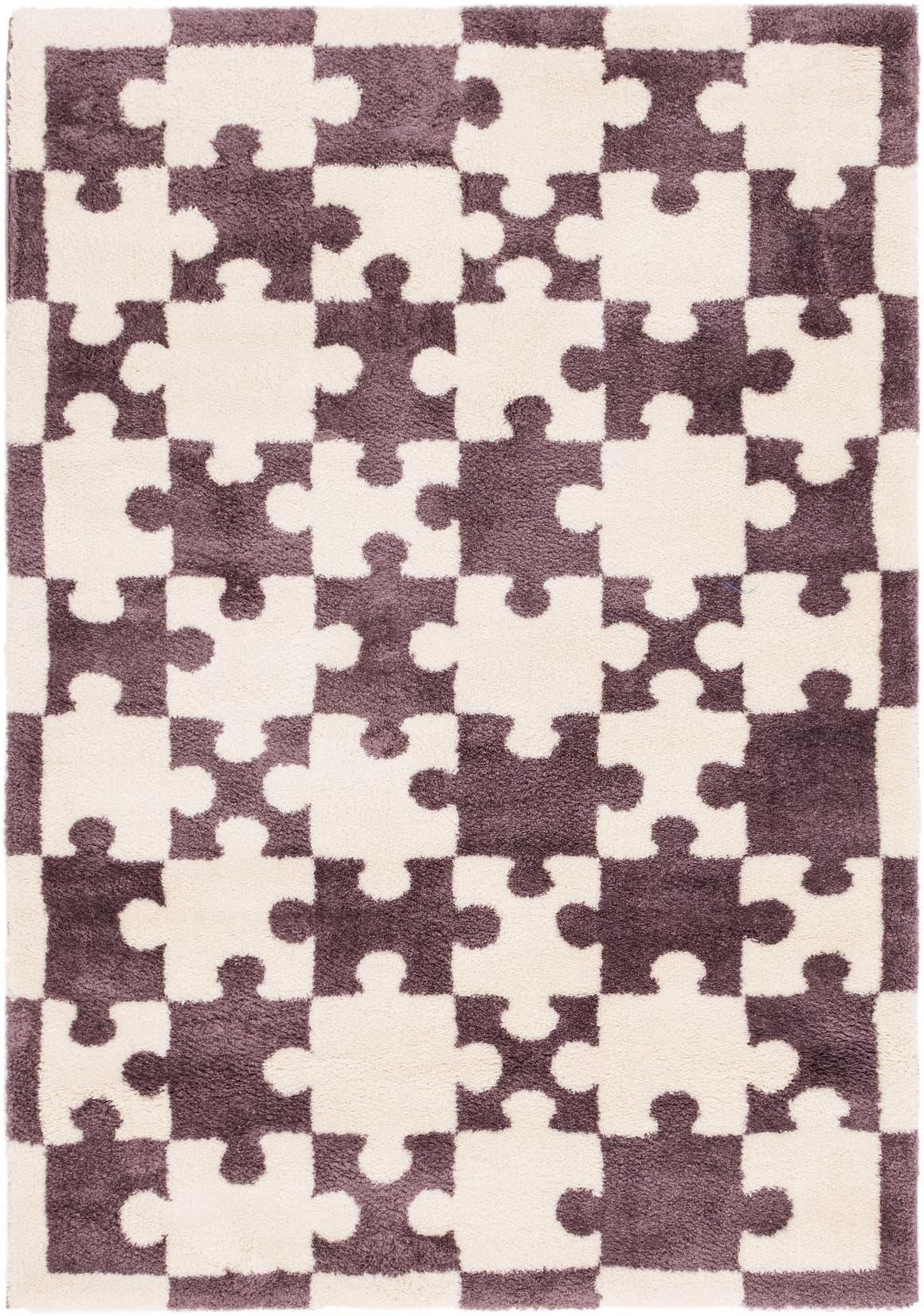 5' 4 x 7' 6 Multi-Tone Shag Rug main image