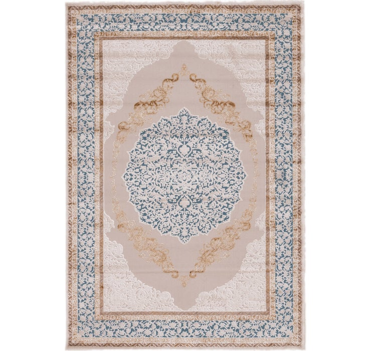 160cm x 230cm Carved Aubusson Rug