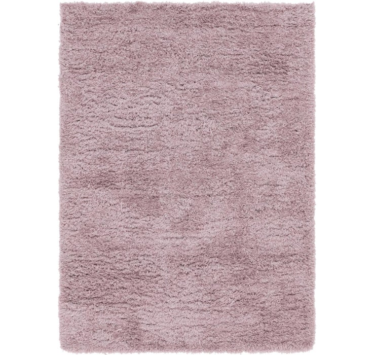 Image of 5' 5 x 7' 4 Luxe Solid Shag Rug