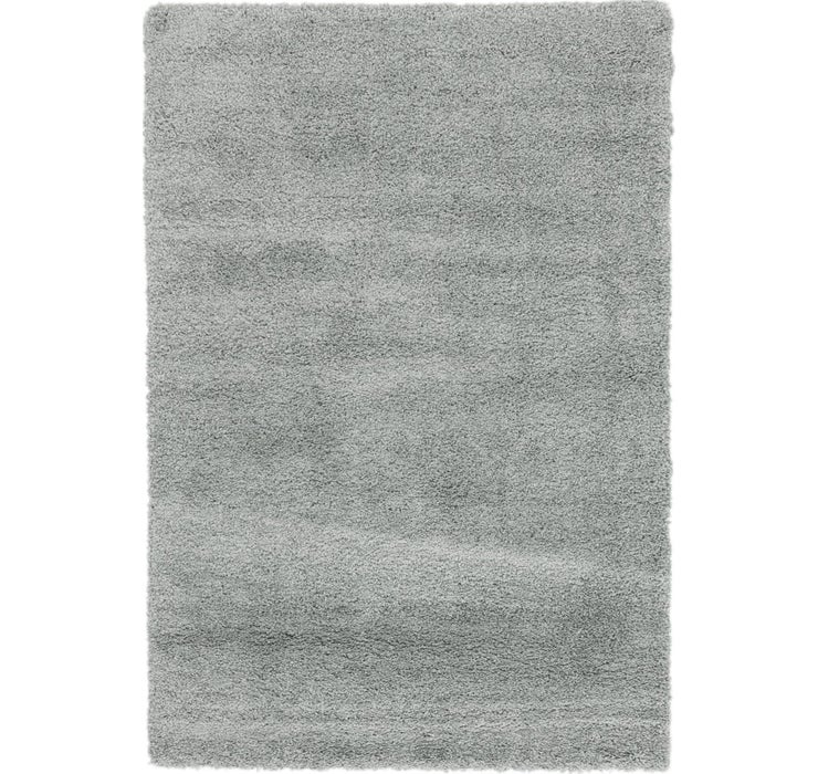 5' 3 x 7' 5 Solid Shag Rug