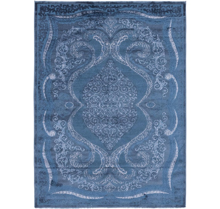 Image of 157cm x 218cm Carved Aubusson Rug