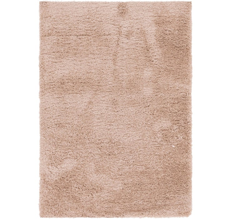 Image of 5' 4 x 7' 7 Luxe Solid Shag Rug
