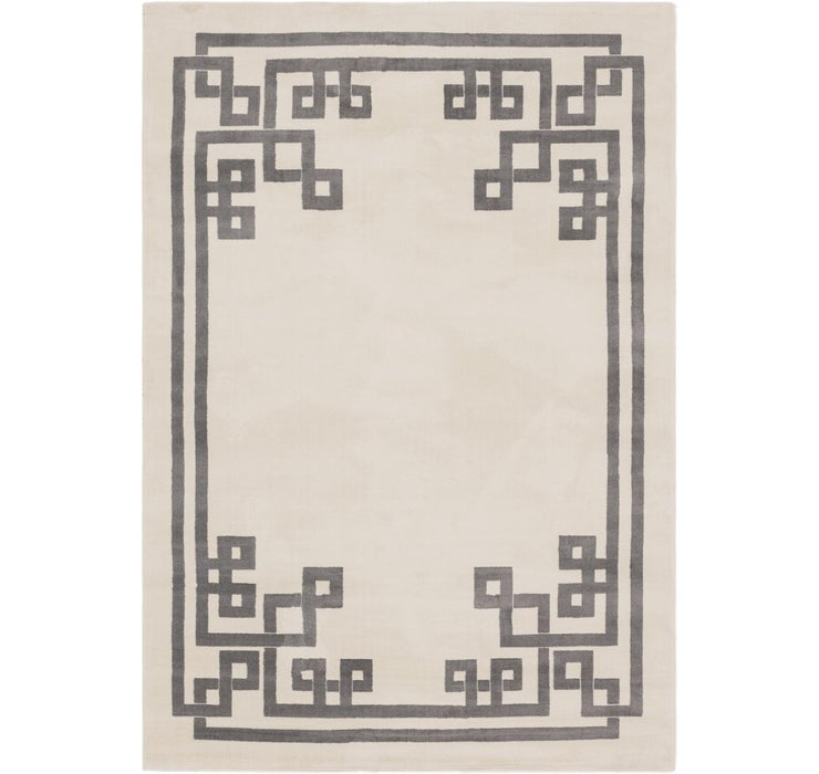 5' 2 x 9' Greek Key Rug