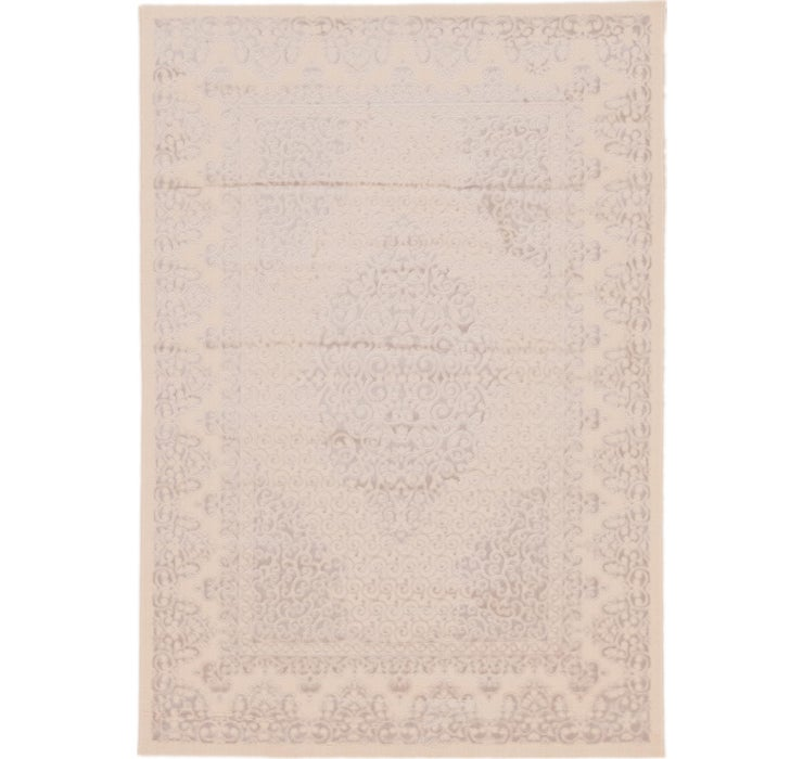 163cm x 230cm Carved Aubusson Rug