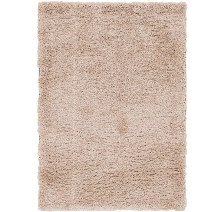 5' 3 x 7' 6 Luxe Solid Shag Rug