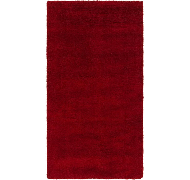 80cm x 152cm Luxe Solid Shag Rug