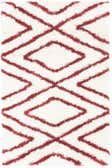 2' 8 x 4' Luxe Trellis Shag Rug thumbnail