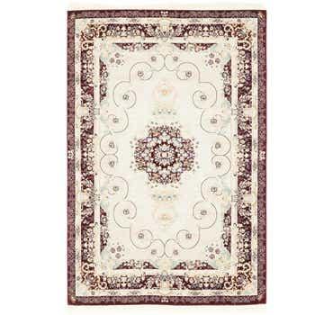 Image of 5' x 7' 8 Tabriz Design Rug