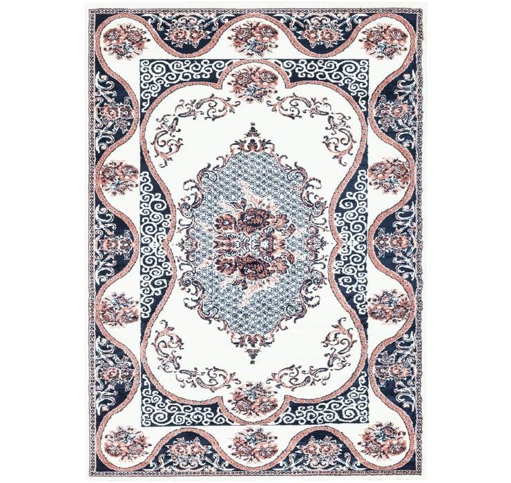 198cm x 287cm Tabriz Design Rug