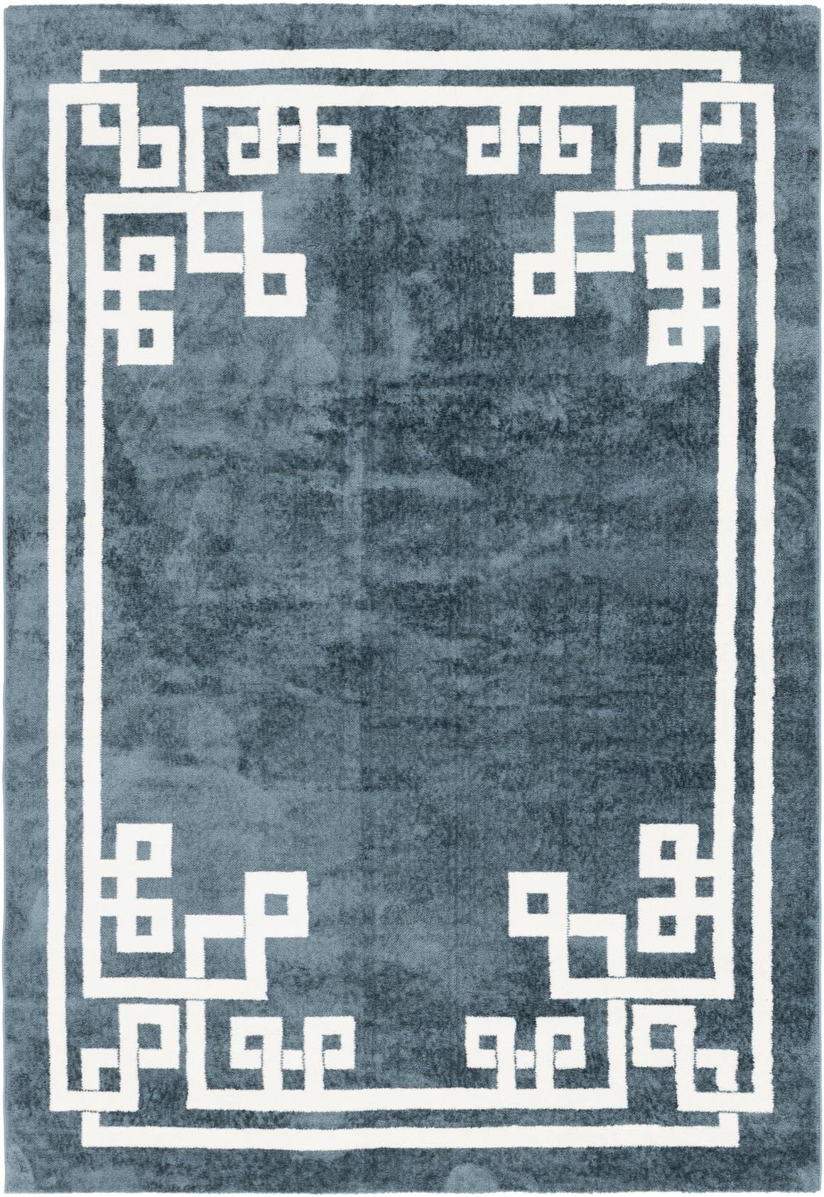 6' x 9' Greek Key Rug main image