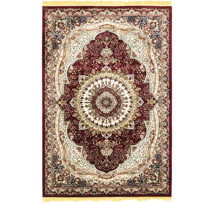 193cm x 287cm Tabriz Design Rug
