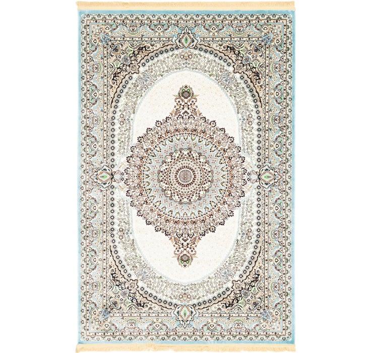 190cm x 297cm Tabriz Design Rug