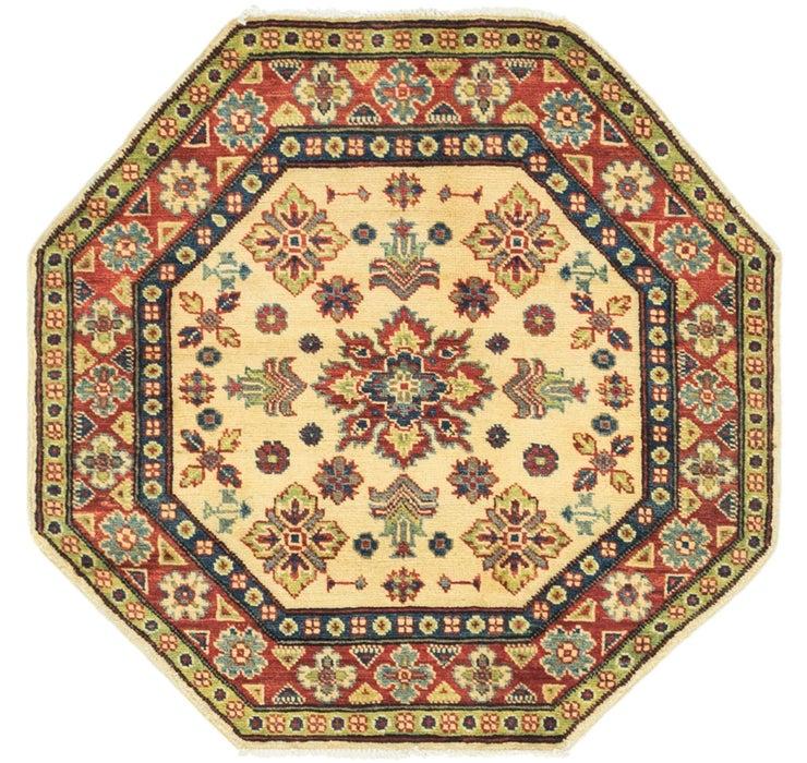 100cm x 102cm Kazak Octagon Rug
