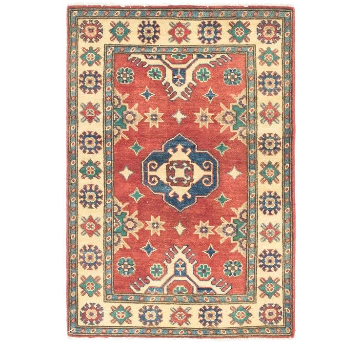 Image of 2' 9 x 4' 2 Kazak Rug