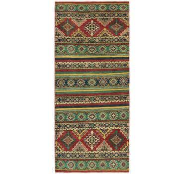 2' 9 x 6' 6 Kazak Runner Rug