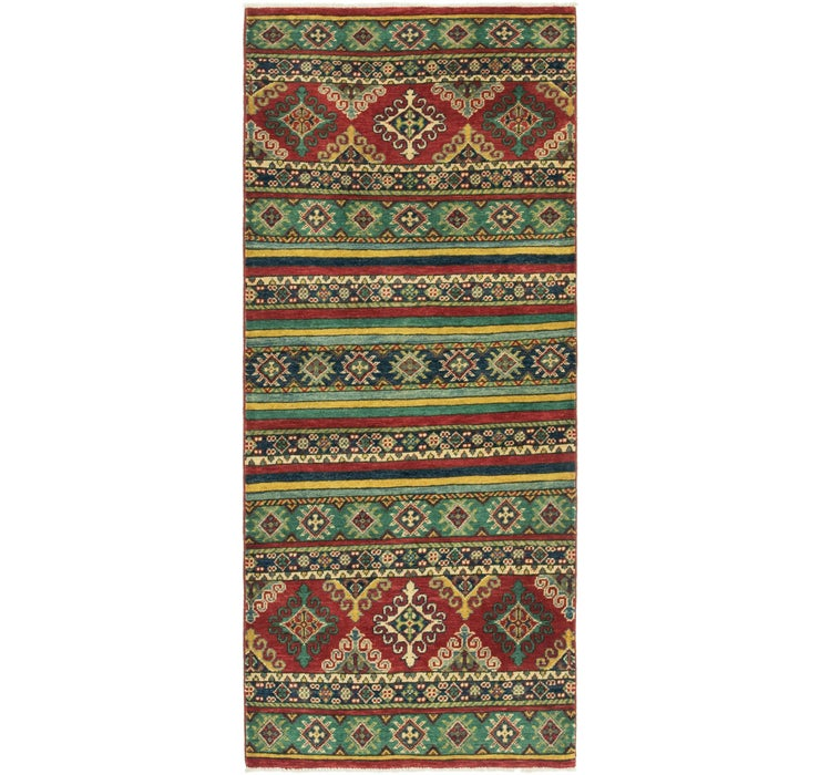 Image of 2' 9 x 6' 6 Kazak Runner Rug
