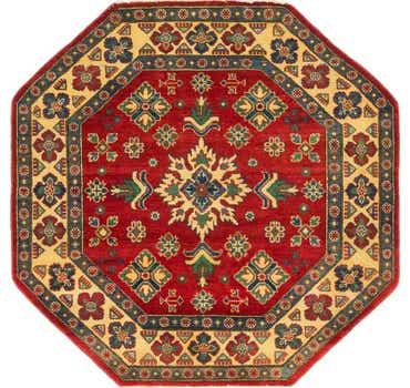 Image of 5' x 5' Kazak Octagon Rug