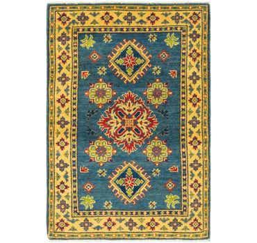 Image of 2' 8 x 4' 1 Kazak Rug