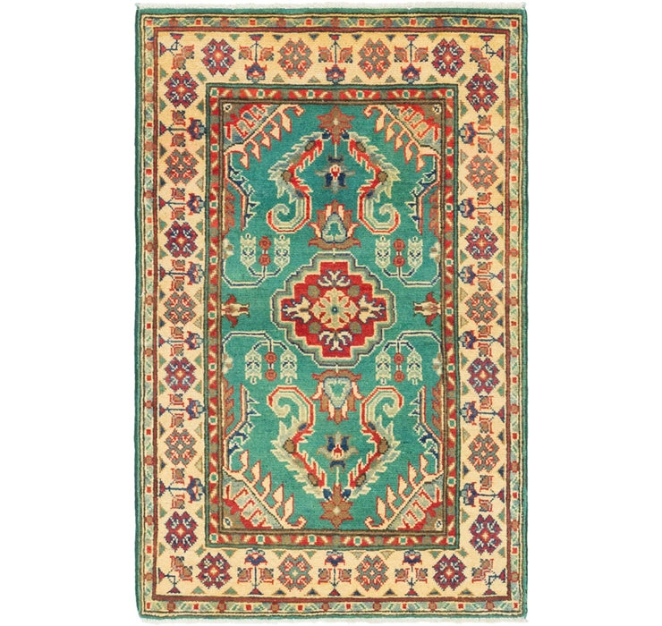80cm x 127cm Kazak Rug