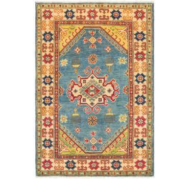 Image of 2' 8 x 4' Kazak Rug