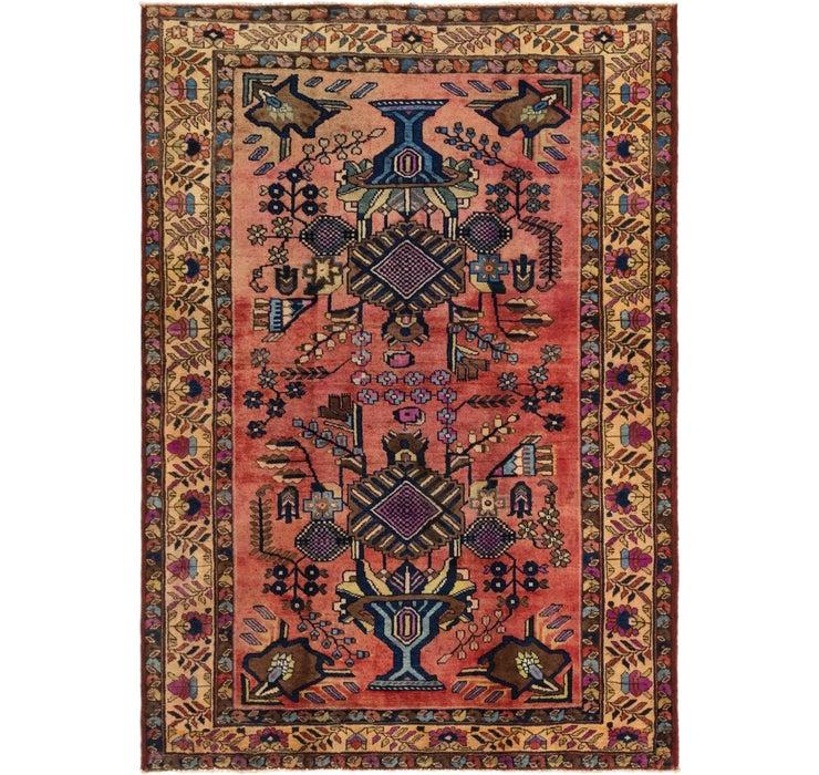 5' x 7' 3 Hamedan Persian Rug