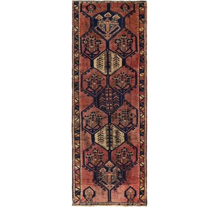 4' x 10' 9 Shiraz Persian Runner Rug