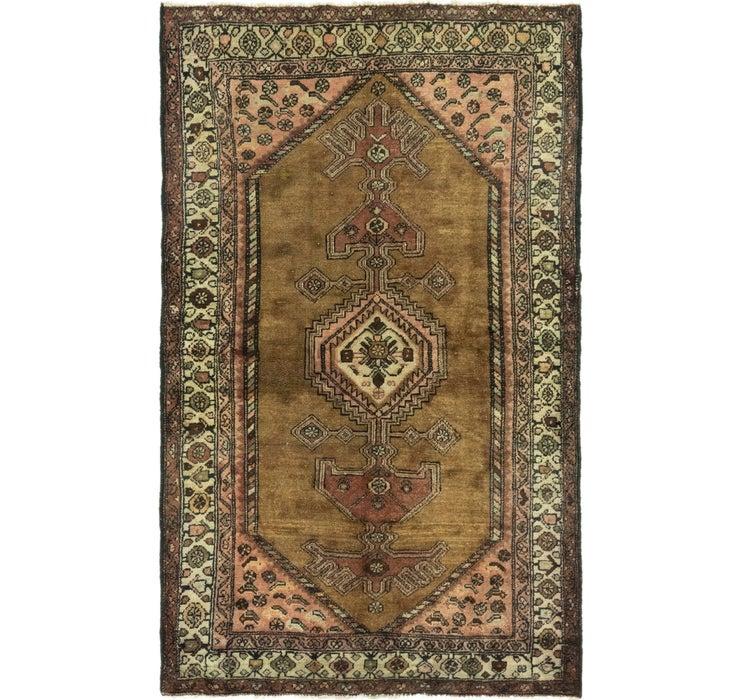 4' 1 x 7' Hamedan Persian Rug