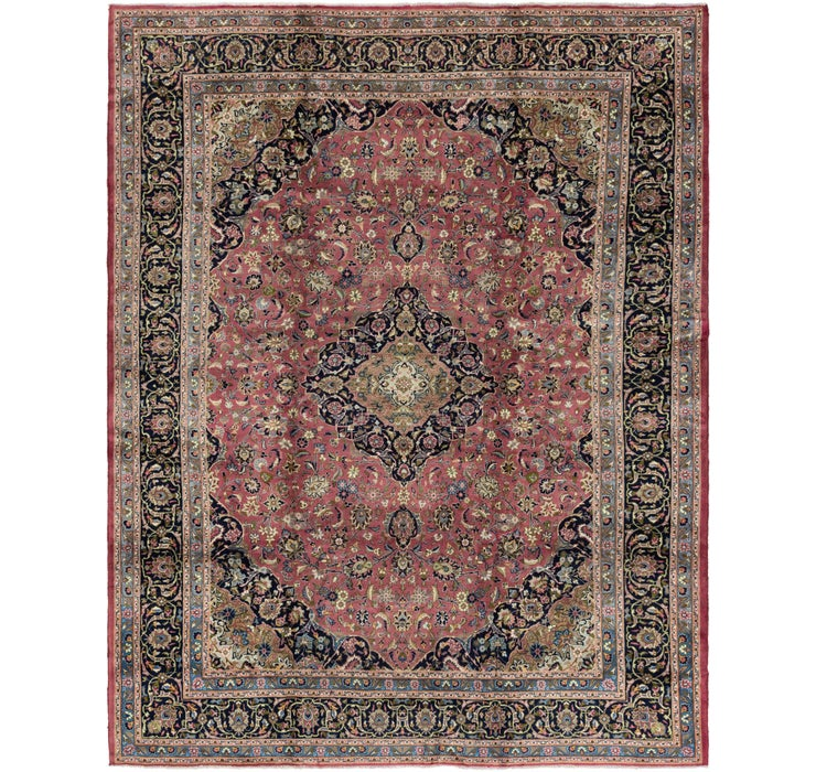 295cm x 380cm Kashan Persian Rug