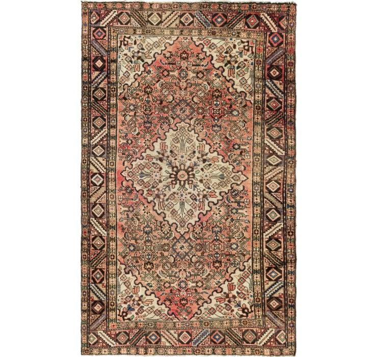 5' x 8' 3 Hossainabad Persian Rug