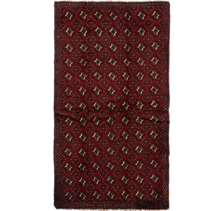 130cm x 235cm Torkaman Persian Rug