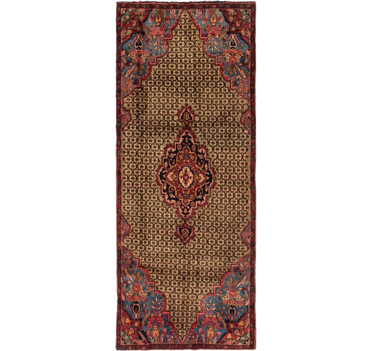 Image of 3' 9 x 9' 2 Songhor Persian Runner ...
