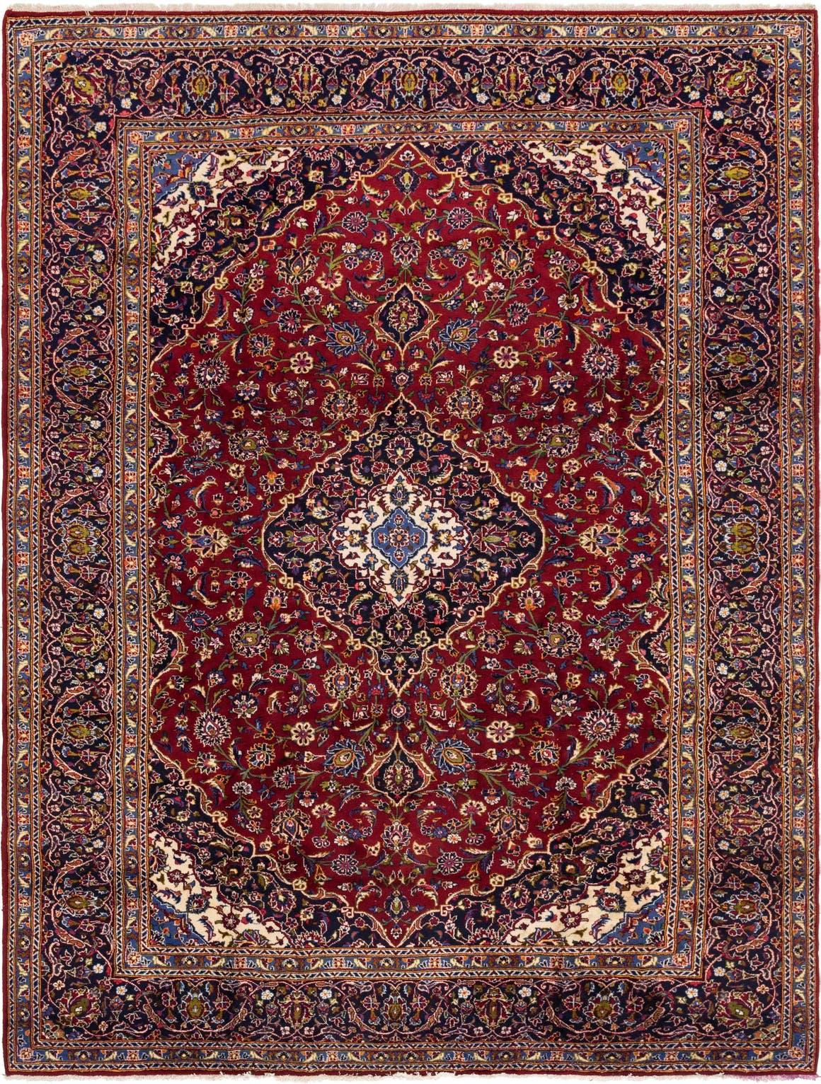295cm x 390cm Kashan Persian Rug main image
