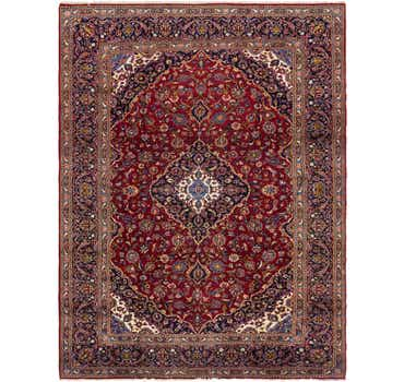 Image of 9' 8 x 12' 10 Kashan Persian Rug