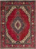 8' 4 x 11' 2 Tabriz Persian Rug thumbnail