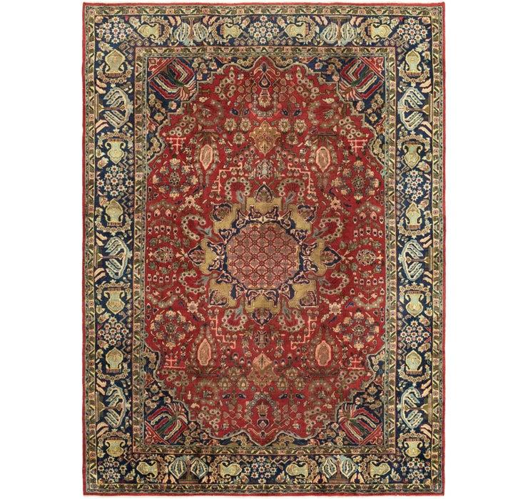 282cm x 390cm Isfahan Persian Rug