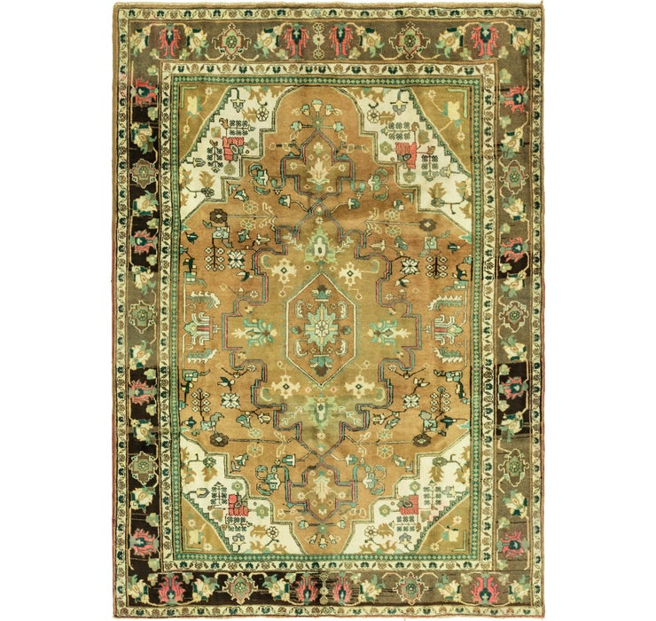 198cm x 285cm Ardabil Persian Rug