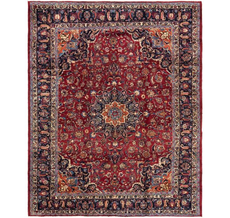 297cm x 373cm Mashad Persian Rug