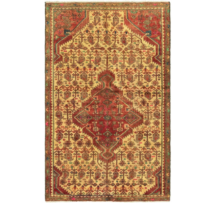 3' 10 x 6' 2 Darjazin Persian Rug