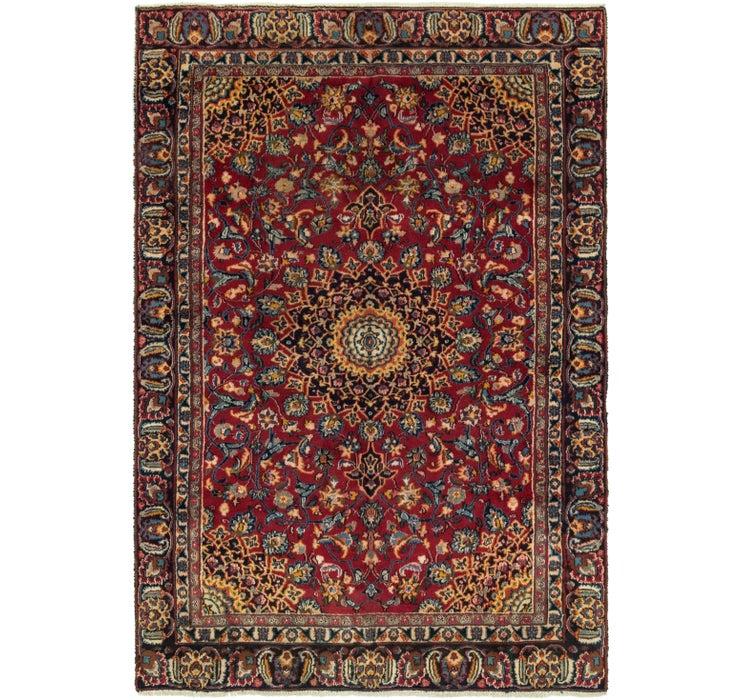 5' 8 x 8' 4 Mashad Persian Rug