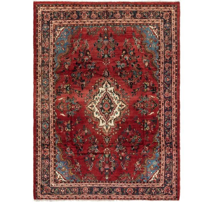 6' 8 x 8' 9 Hamedan Persian Rug