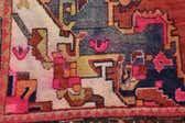 4' 10 x 9' 8 Hamedan Persian Runner Rug thumbnail