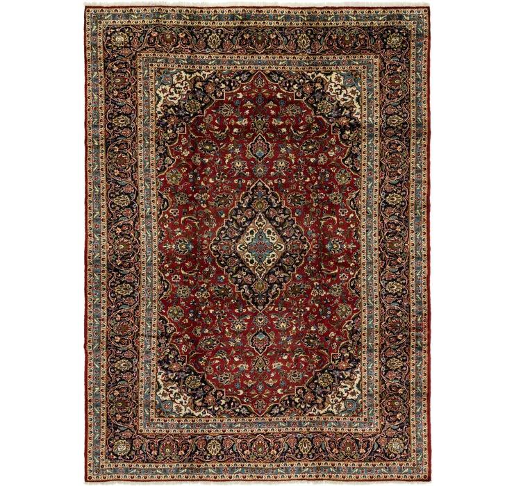 9' 6 x 13' 2 Kashan Persian Rug