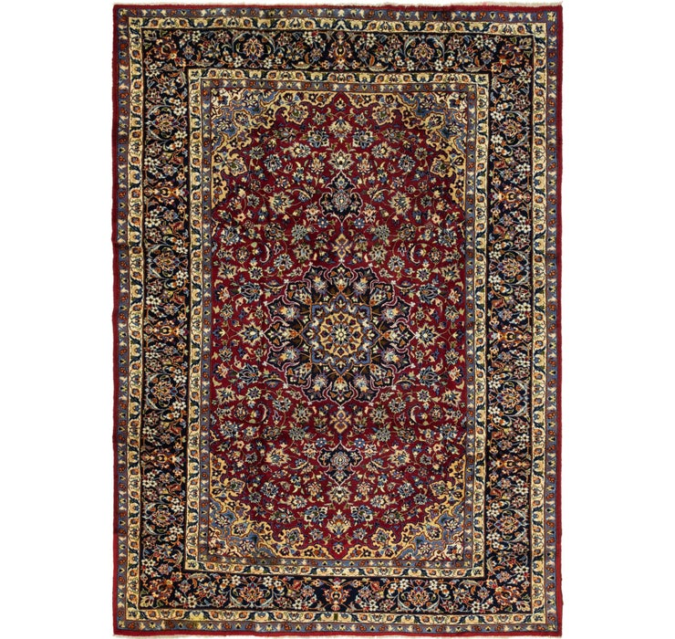 8' 3 x 12' 9 Isfahan Persian Rug