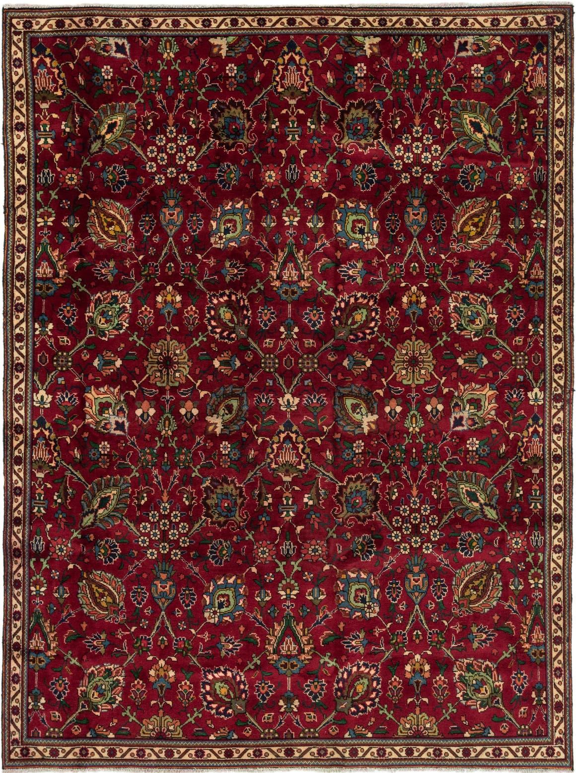 7' 8 x 12' 4 Tabriz Persian Rug main image