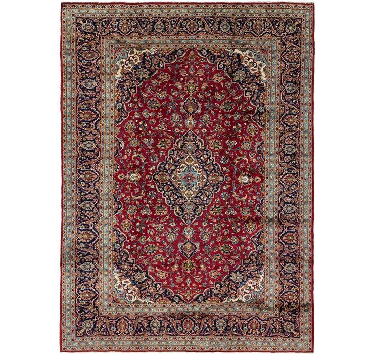 290cm x 395cm Kashan Persian Rug
