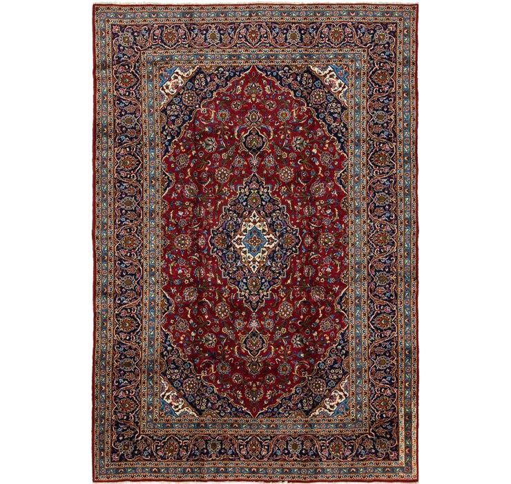 9' 5 x 13' 10 Kashan Persian Rug